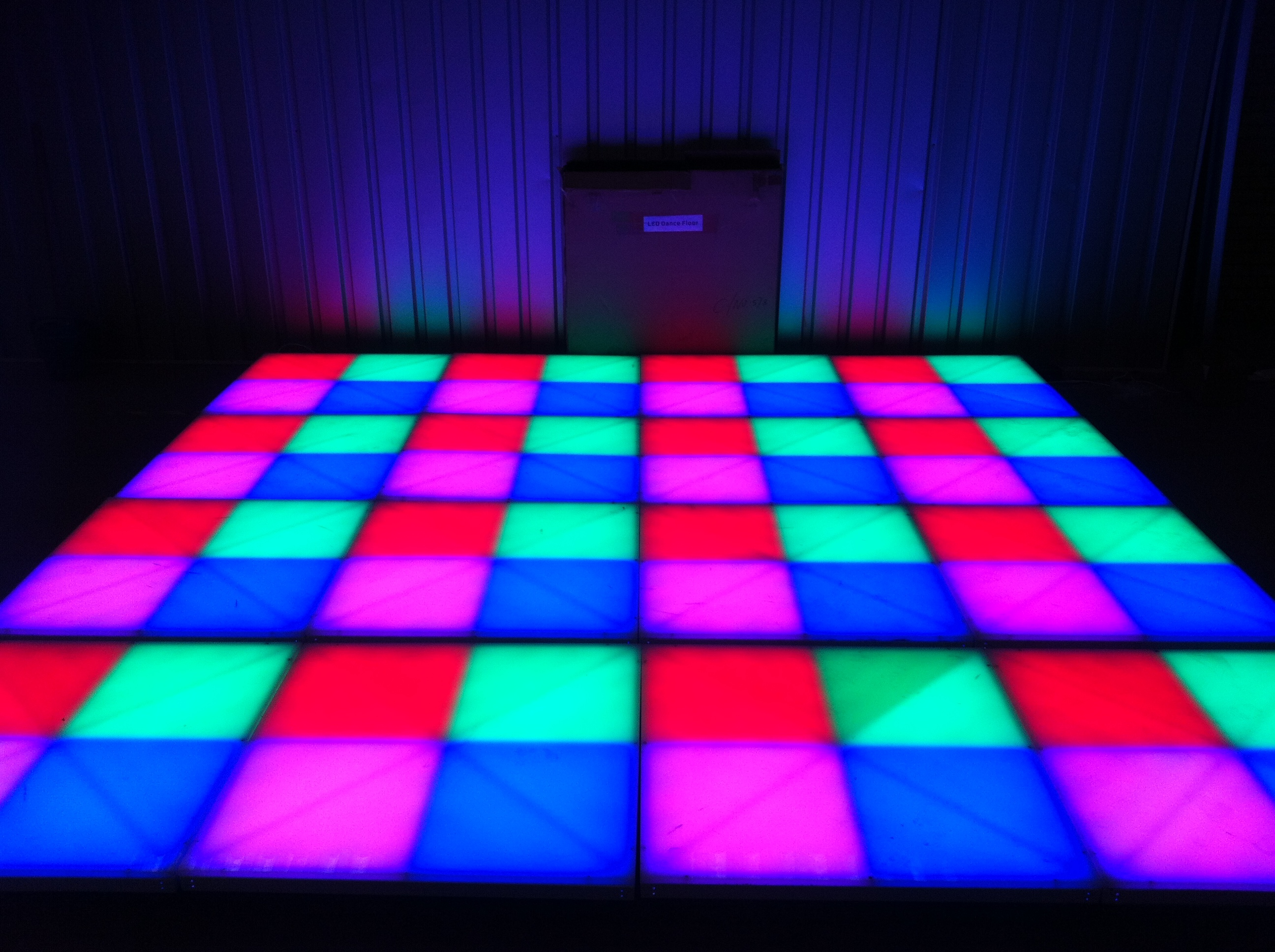 Disco Led Dancefloor Dream Team Dancefloor Hire
