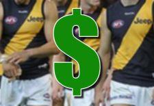 Richmond Tigers AFL Fantasy Prices 2014
