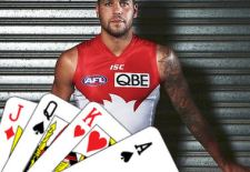 Lance Franklin – Deck of Dream Team 2014