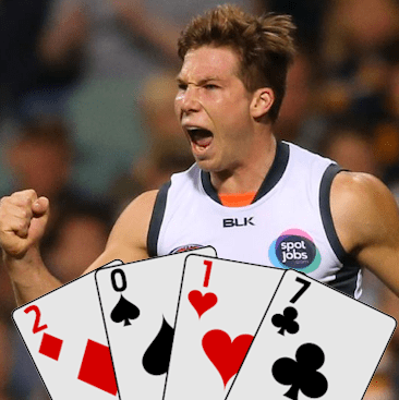 Toby Greene Deck Of Dt 2017