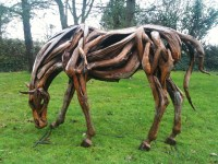 Driftwood War Horse  'Dreamwall Style Blog'