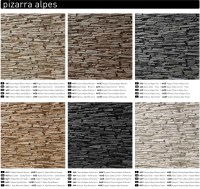 panels like slate effect | Dreamwall wallcoverings with a ...