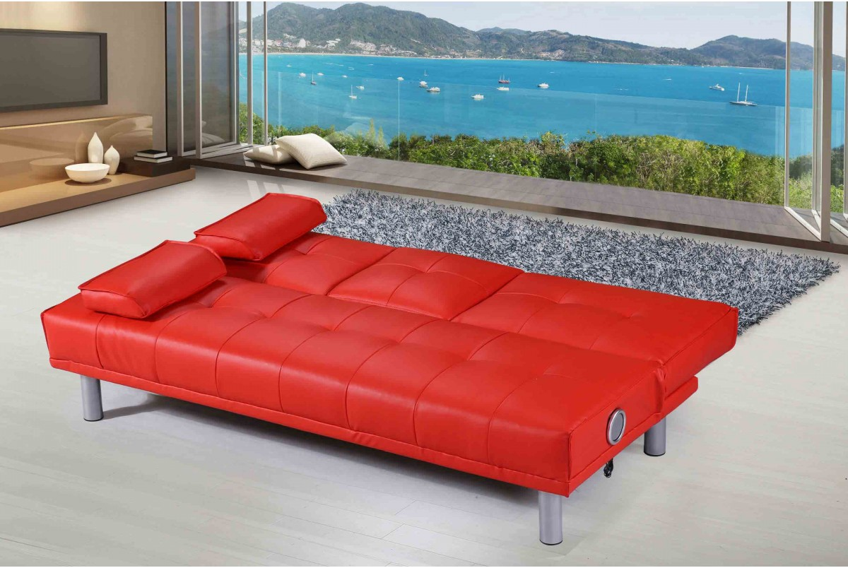 Buy Sofa Bed Online Manhattan Sofa Bed Bluetooth Red Buy Sofa Beds Online And