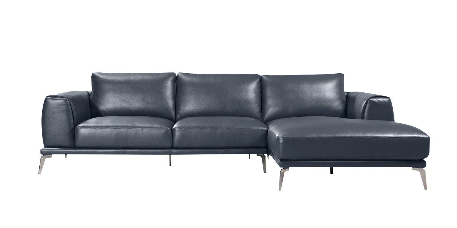 3 Seater Sofa Bed Dreams Specy Three Seater Leatherette Sofa With Lounger In Blue