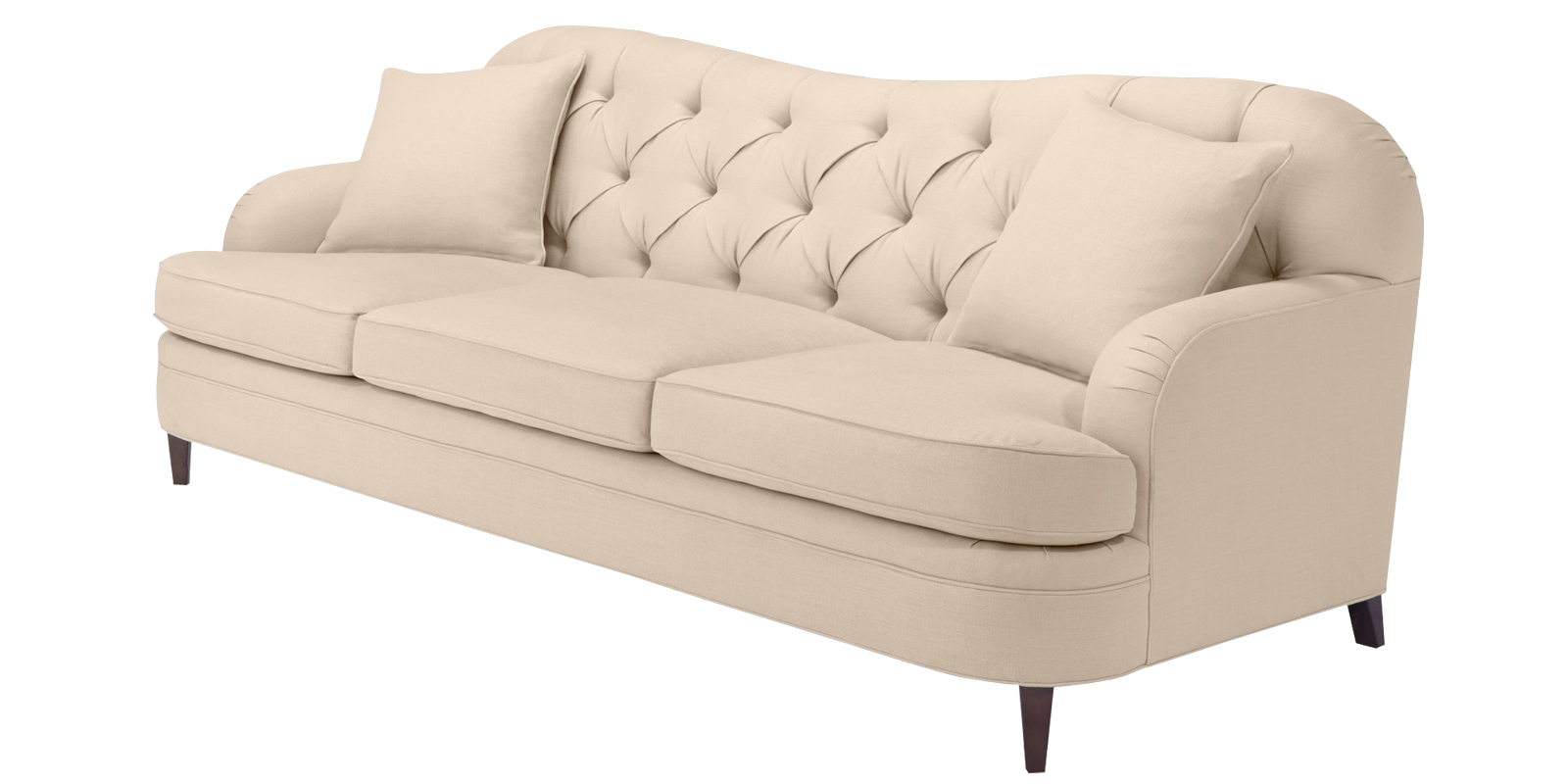 3 Seater Sofa Bed Dreams Cadet Beige Color Tufted Three Seater Sofa Dreamzz