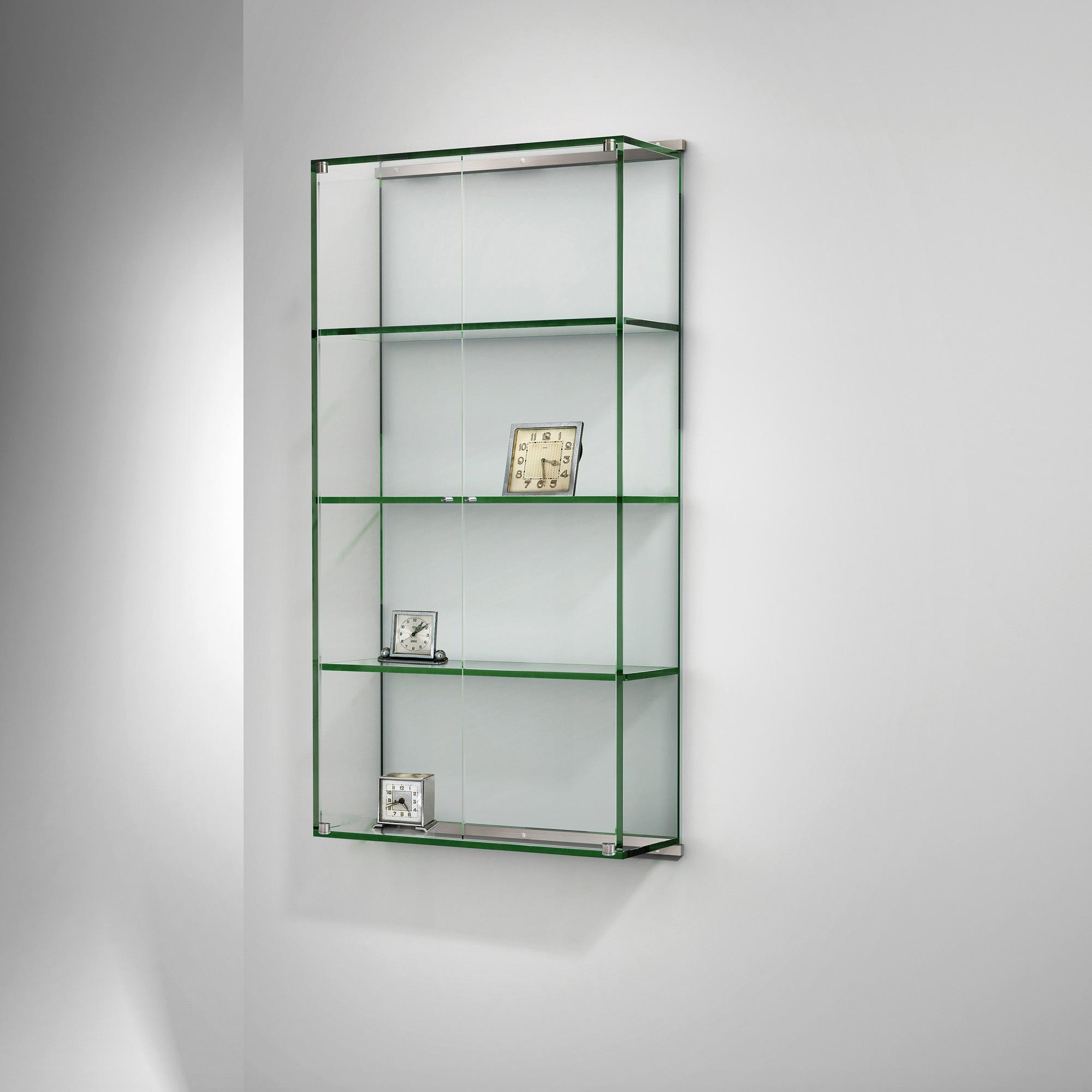 Glasvitrine Chrom Buy Wall Display Case By Dreieck Design | Vitro