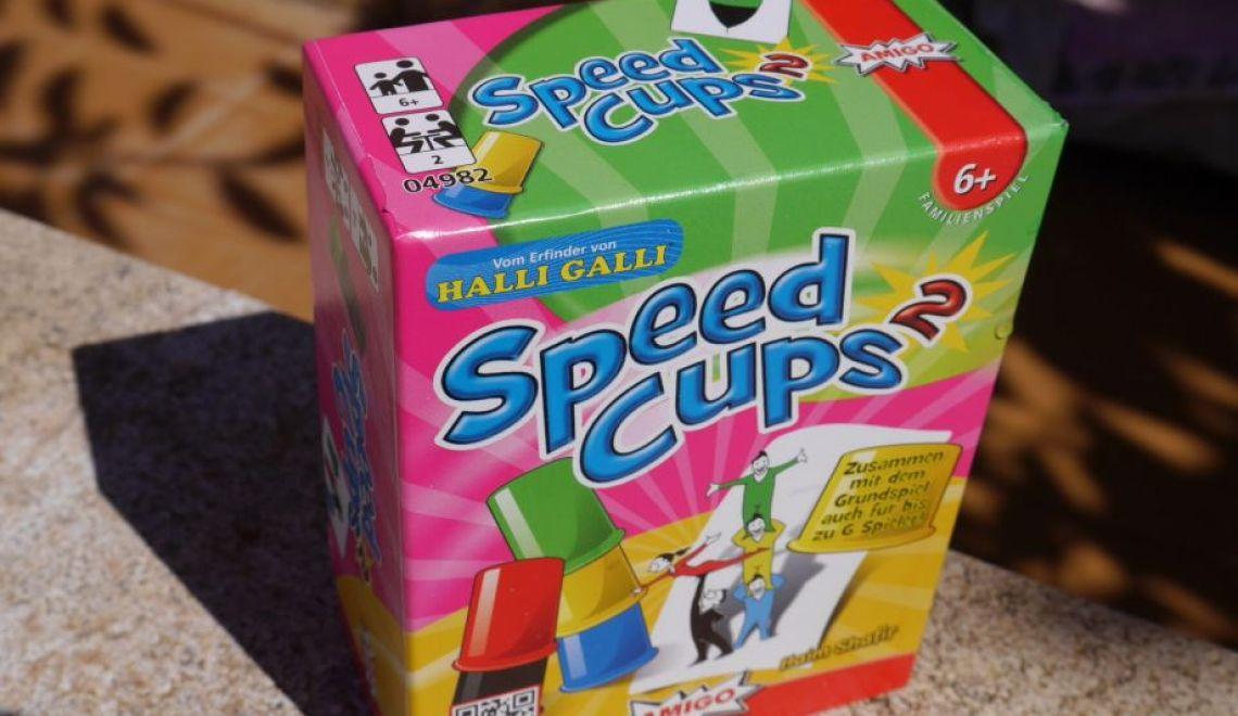 Speed Cups 2, kurzweiliger Spielpaß mit AMIGO