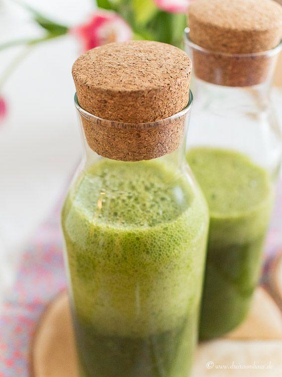 dreiraumhaus bauknecht kühlkombi kuehlkombi kuehlschrank gruene smoothies rezept KGNF 18K A3+ IN