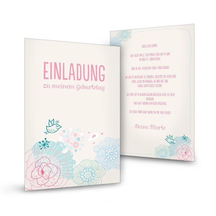 Carinokarten - Einladungen Hochzeit, Taufe, Geburtstag