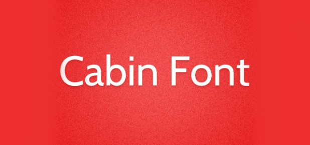 cabin-fonts