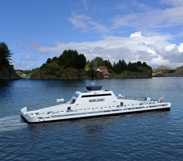 Ferry eléctrico Noruega