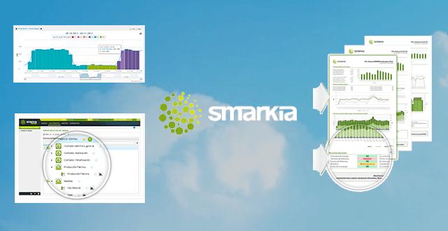 La monitorización energética con el software de Smarkia