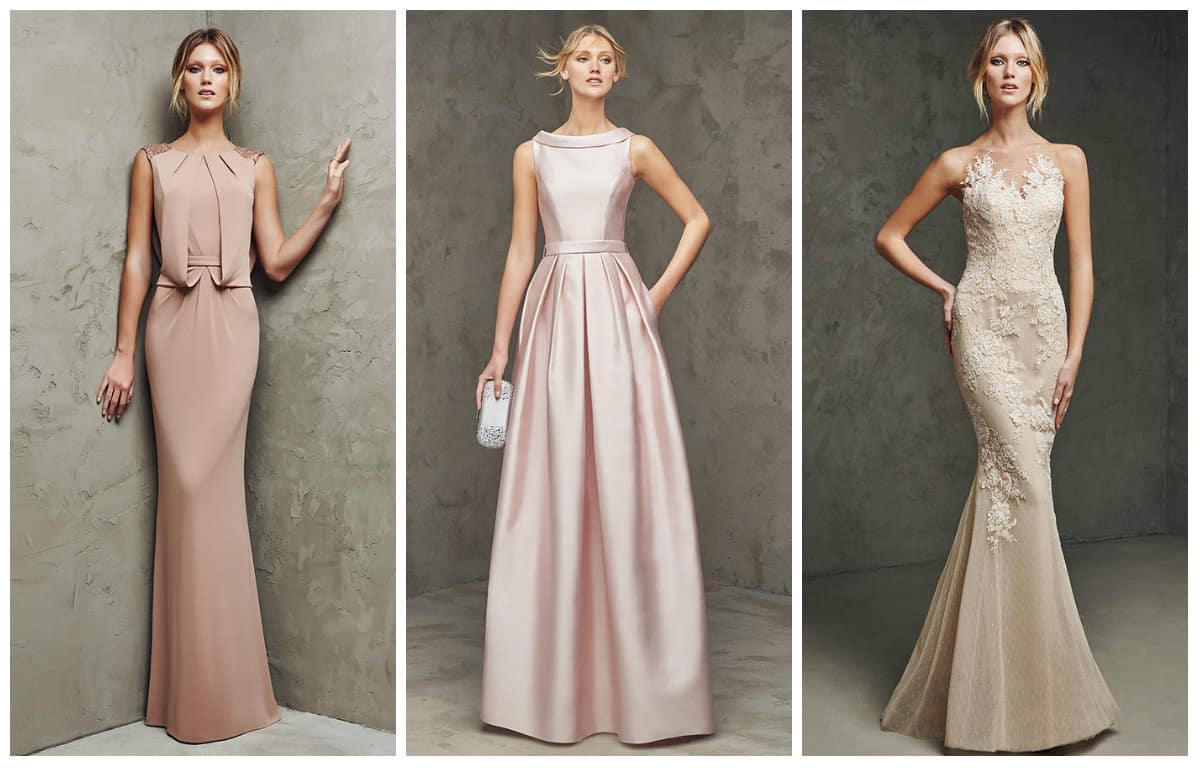 Long Cocktail Long Cocktail Prom Dresses 2016 From Pronovias Dress Trends
