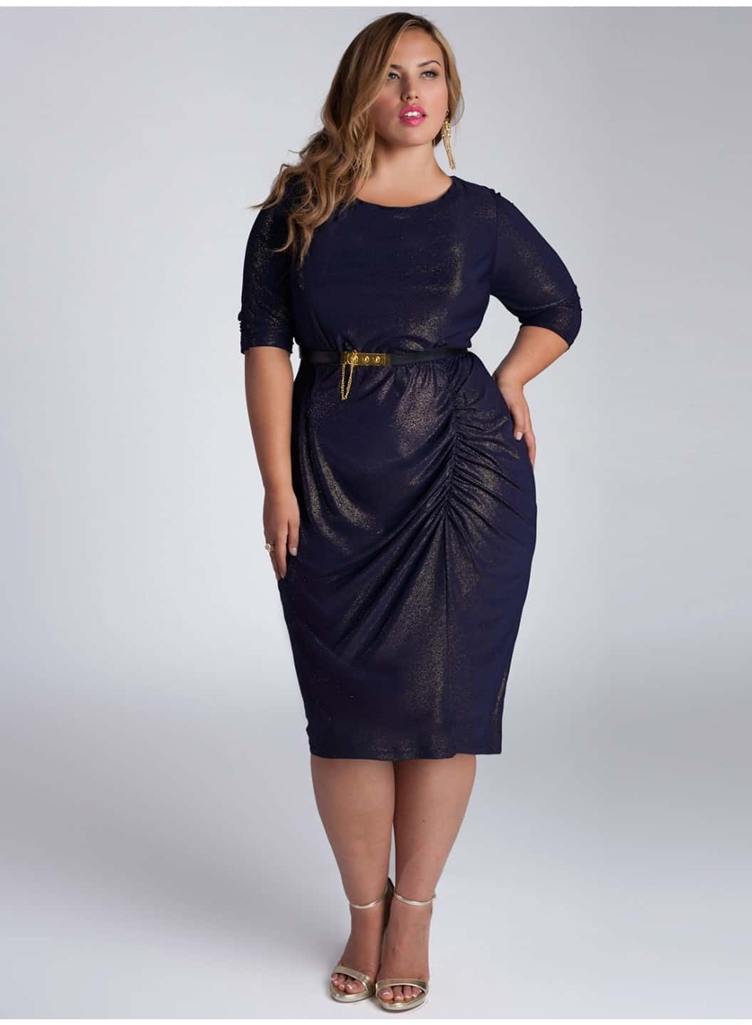 Black Evening Gown Plus Size