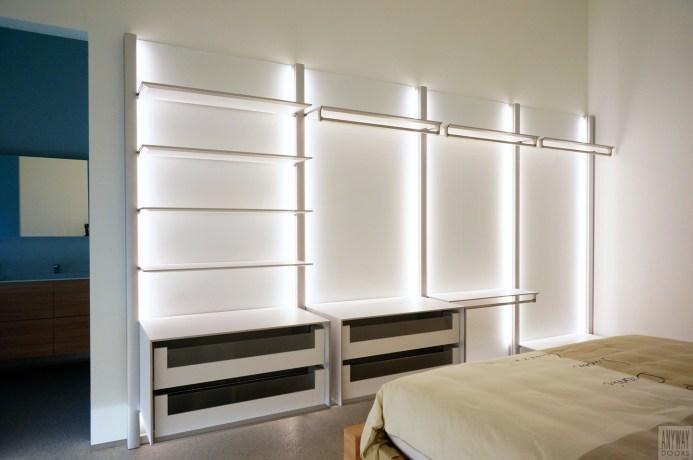 Moderne slaapkamer inrichten