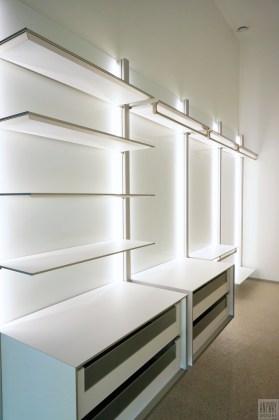 Witte dressings met led verlichting