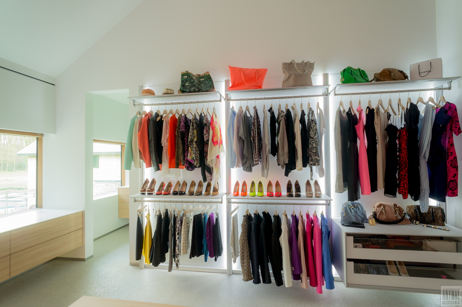 Design slaapkamerkasten op maat dress a way kasten op maat - Foto moderne dressing ...