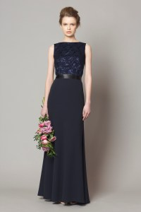 Navy Lace top style DC1176 | Bridesmaid Evening & Debs ...