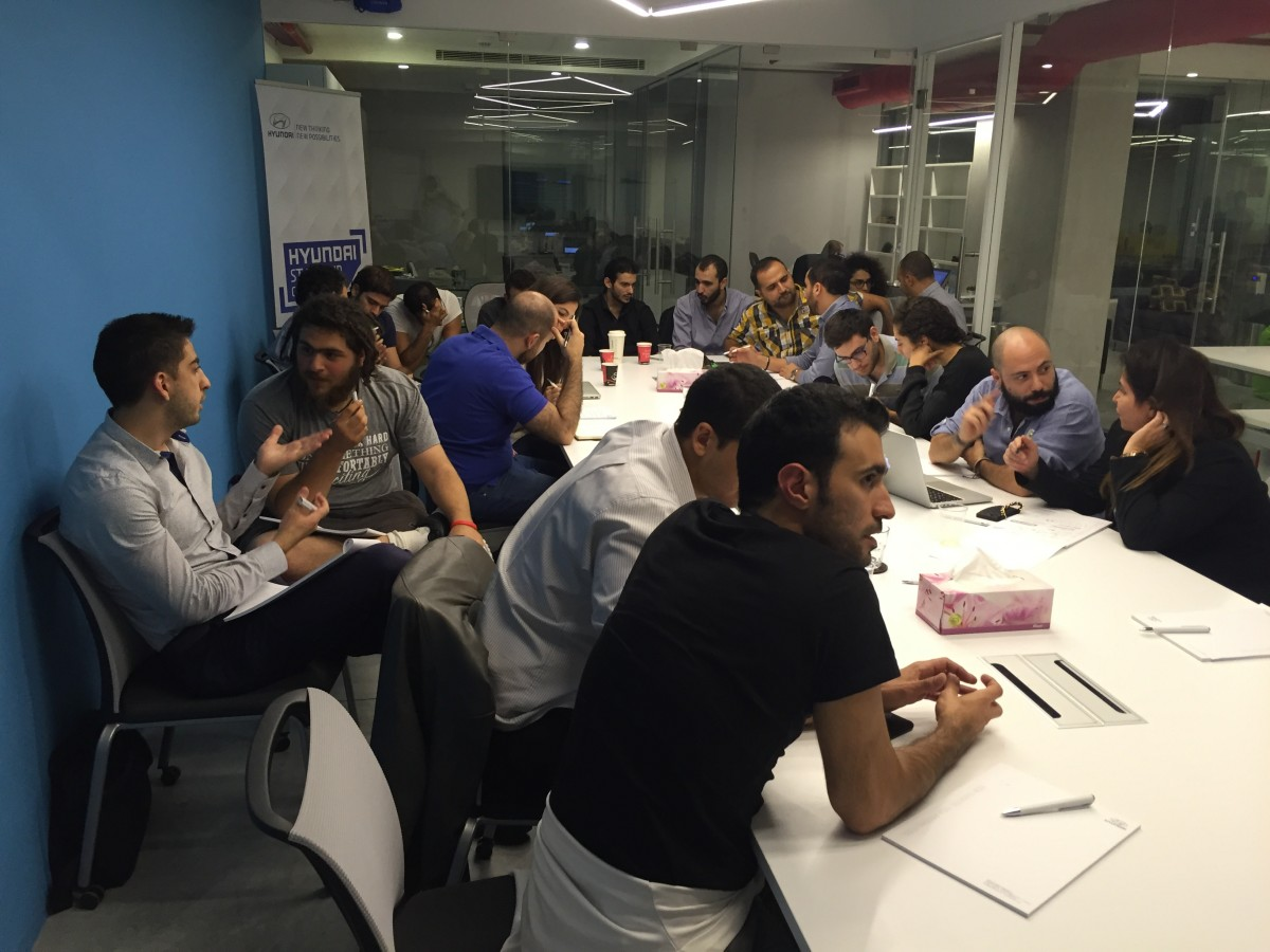 Design using Lean UX Hyundai Startup Competition Lebanon Beirut Arabnet