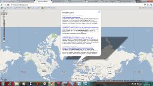 Brilliant News Map Mashups