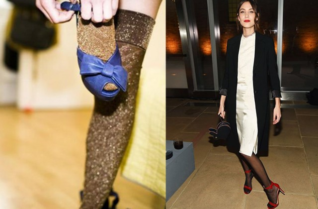 How To Wear Tights With Open Toe Shoes Dress Like A Parisian