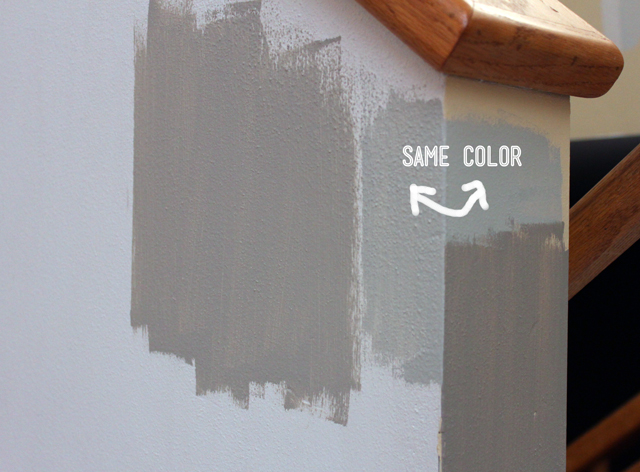 The Perfect Gray Paint Drew \ Vanessa - mindful gray living room