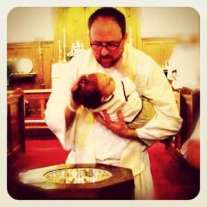 On Baptizing My Son