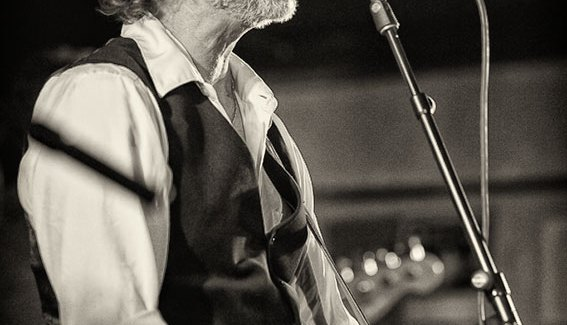 Drew Nelson performing at Irene's Pub in 2014 - Photo ©2014 Bulldog Photography