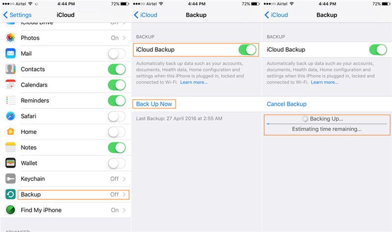 3 Essential Ways to Backup iPhone/iPad Easily- drfone