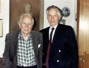 Laurens van der Post and Gerard Gross