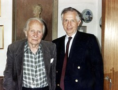 Laurens van der Post and Gerard Gross
