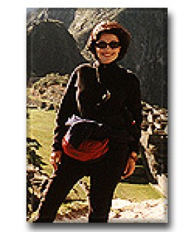 Dr. Gross on Machu Pichu