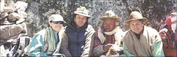 Dr. Gross, Alberto Villoldo, The Keeper of the Rainbow at Ausangate, Peru