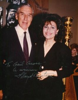 Dr. Gross and the Secretary of the Treasury Lloyd Bentsen