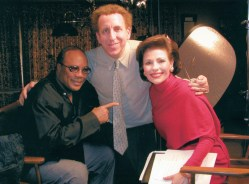 Dr. Gross and Dr. Dean Ornish, M.D and Quincy Jones