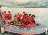 Jenard Gross, Dr. Gross, and Shawn Gross Rafting down the Matterhorn in Alaska
