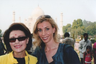 Dr. Gross and Melanie Walton in India