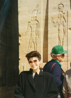 Dr. Gross in Egypt