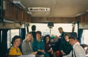 Tina Bentsen, Gayle Bentsen, Li Perrin, Dr. Gross, B.A. Bentsen and Charlie Wilson