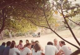 Princess Margaret, Viscount Linley, Jenard Gross, Dr. Gross on the Island of Mustique