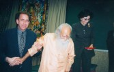 Dr. Dean Ornish, Swami Satchidananda, Dr. Gross