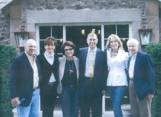 Edward Robson, Missy Anderson, Dr. Gross, Prince Andrew, Michelle Robson and Jenard Gross