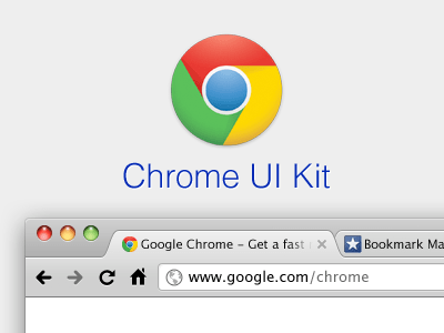 chromeuikit 8 Fantastic & Free Browser PSDs