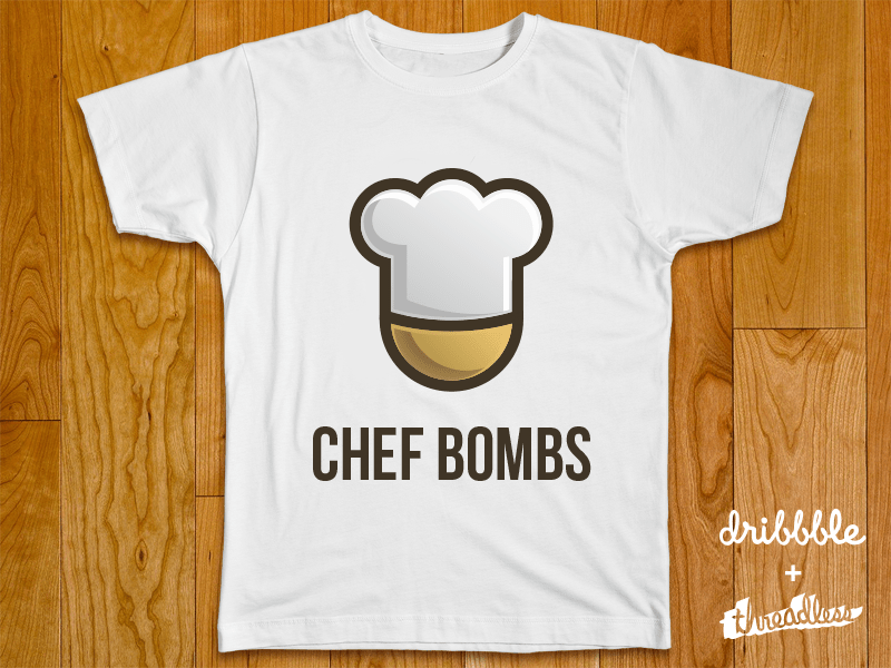 chef 40 Incredible T Shirt Concepts for Inspiration