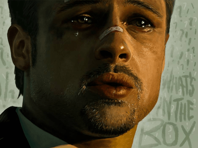 bradpitt 1x 25 Breathtaking Digital Paintings from Dribbble