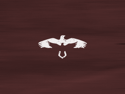 dribbble raven2 30 Clever Examples of Negative Space Logos