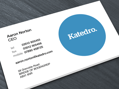 katedro 10 Minimal Business Card Designs | Inspiration