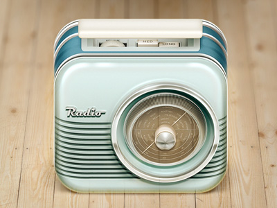 radio ios icon 20 Beautiful Icon Designs | Inspiration