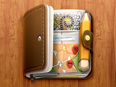 journal ios icon 20 Beautiful Icon Designs | Inspiration