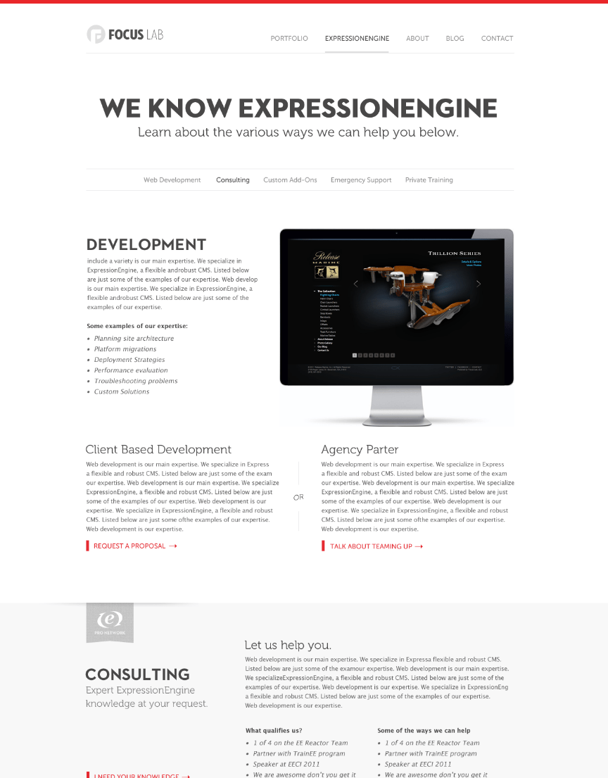 scroller 15 Inspirational Examples of Minimal & Clean Web Design